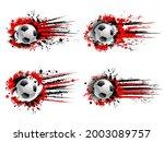 soccer football sport grunge... | Shutterstock .eps vector #2003089757