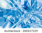 abstract blue background of... | Shutterstock . vector #200317229