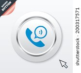 phone sign icon. support symbol....