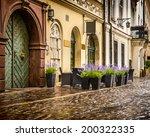 krakow   poland's historic... | Shutterstock . vector #200322335