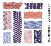 washi tape design collection.... | Shutterstock .eps vector #2003228897