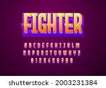 3d Typeface Game Logo Title...