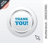 thank you sign icon. gratitude...