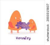 genetics character icon.... | Shutterstock .eps vector #2003315837