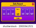 buy coins screen for slot game. ...