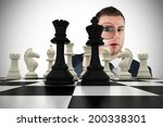 composite image of businessman... | Shutterstock . vector #200338301