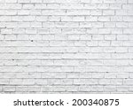white misty brick wall for... | Shutterstock . vector #200340875
