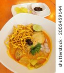 Northern Thai Style Noodles...
