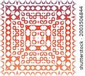 decorative color ceramic... | Shutterstock .eps vector #2003506844