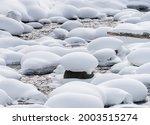 Winter Shot Of Soda Butte Creek ...