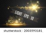 special lens flash  light...   Shutterstock .eps vector #2003593181