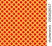 pop art  comic yellow and red...   Shutterstock .eps vector #2003628317
