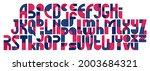 abstract geometric original... | Shutterstock .eps vector #2003684321