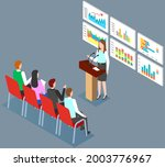 visualize with business...   Shutterstock .eps vector #2003776967