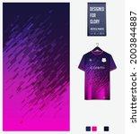 soccer jersey pattern design.... | Shutterstock .eps vector #2003844887