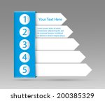a template sequence rank | Shutterstock .eps vector #200385329