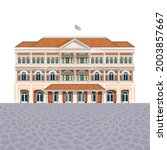 house building icon  luxury... | Shutterstock .eps vector #2003857667