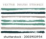 scribble ink brush strokes...   Shutterstock .eps vector #2003903954