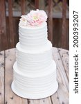 wedding cake | Shutterstock . vector #200393207
