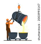 male character is working in...   Shutterstock .eps vector #2003993147