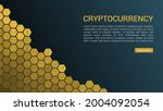 blockchain technology concept ...   Shutterstock .eps vector #2004092054
