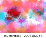 abstract colorful blur... | Shutterstock . vector #2004103754