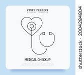 annual medical checkup thin... | Shutterstock .eps vector #2004284804