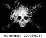 An Abstract Skull That Emerges...