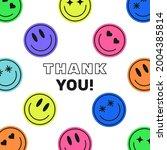 thank you minimalistic modern... | Shutterstock .eps vector #2004385814