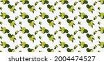 citrus vector pattern on a... | Shutterstock .eps vector #2004474527