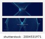 deep learning concept. digital... | Shutterstock .eps vector #2004531971
