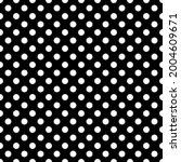 White And Black Polka Dot...