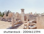 ancient ruins of colonnaded...   Shutterstock . vector #2004611594