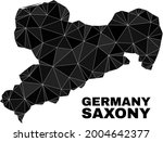 low poly saxony land map.... | Shutterstock .eps vector #2004642377