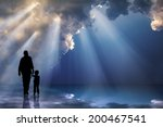 father   child   the father's... | Shutterstock . vector #200467541