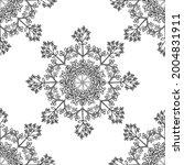 seamless pattern with bitter... | Shutterstock .eps vector #2004831911