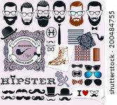 hipster style design  artistic... | Shutterstock .eps vector #200484755