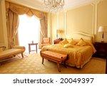 Stock photo a luxury hotel room 20049397