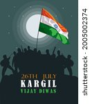 26th july kargil victory day...   Shutterstock .eps vector #2005002374