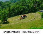 Tractor Working In The Field....