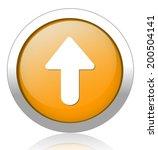 arrow sign icon | Shutterstock .eps vector #200504141