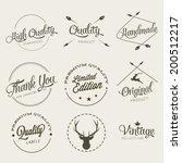 set of simbols | Shutterstock .eps vector #200512217