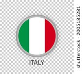 national flag of italy .round...   Shutterstock .eps vector #2005185281