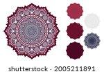3d layered mandala svg. mandala ... | Shutterstock .eps vector #2005211891