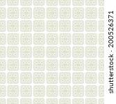 abstract light ethnic seamless...   Shutterstock .eps vector #200526371