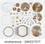 disassembled mechanical wrist... | Shutterstock . vector #200527577