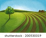 agriculture green | Shutterstock .eps vector #200530319