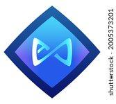axie infinity axs token symbol... | Shutterstock .eps vector #2005373201