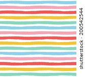 seamless striped pattern with... | Shutterstock . vector #200542544