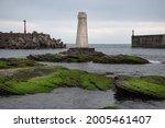 Abandoned White Lighthouse...